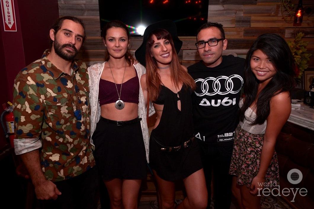 Los de la Vega, Sophia Glass, Aitana Cardoso, Jona Araujo, & Jessie Kuo