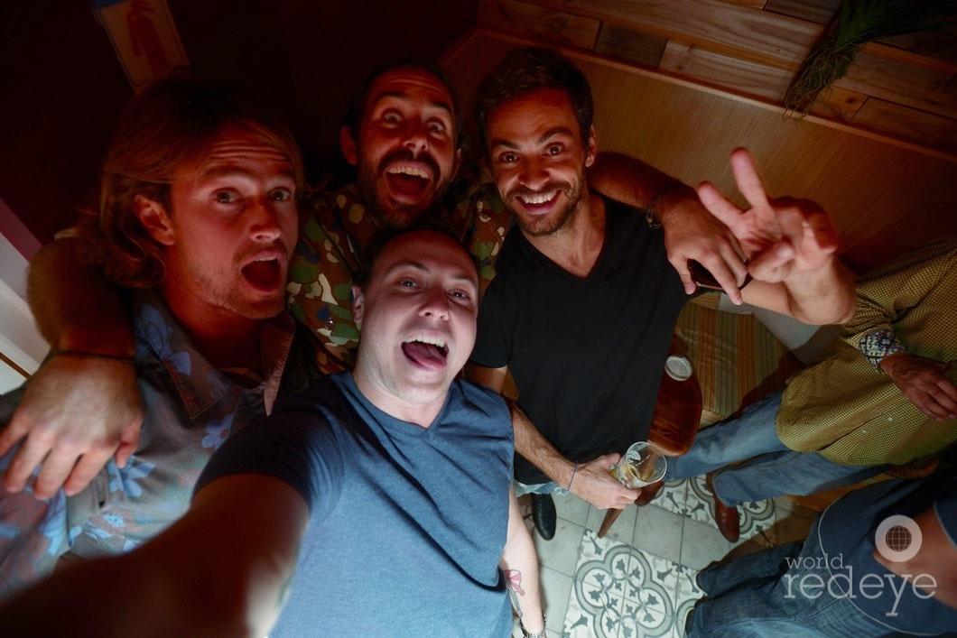 Ryan Heavyside, Los de la Vega, Paulo Cardoso, & Ryan Troy