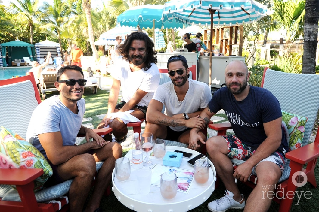 Alex Pinho, David Saada, Rodrigo Gormaz, & Brandon Fogel