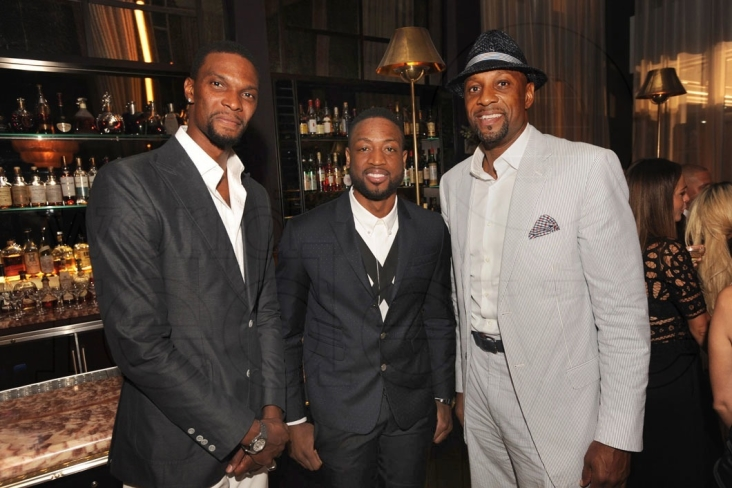 Chris Bosh, Dwyane Wade, & Alonzo Mourning1
