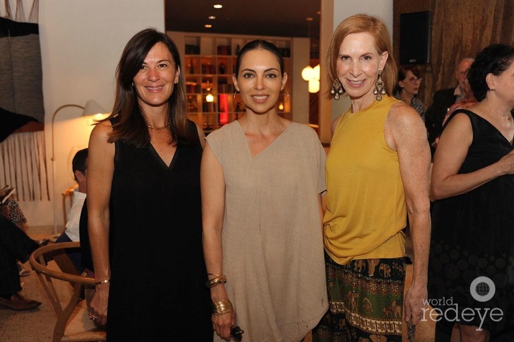 17-Sarah Harrelson, Teresita Fernandez, & Karen lord