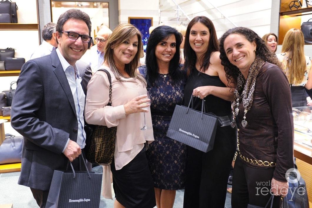 33-Ariel Croitorescu, Jeanette Mazon, Mary Croitorescu, & Monica Moreno