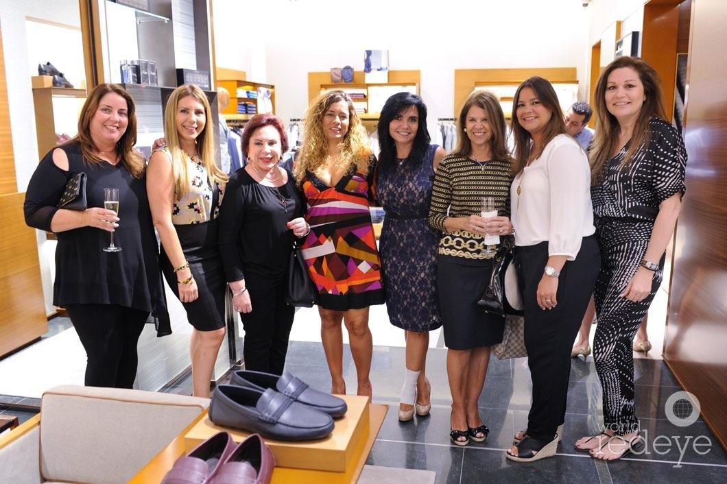36-Martia Salgado, Marita Belfiore, Adriana Lukasik, Jeanette Mazon, Carmen Lopez, Claudine Tate, & Frances Brodsky