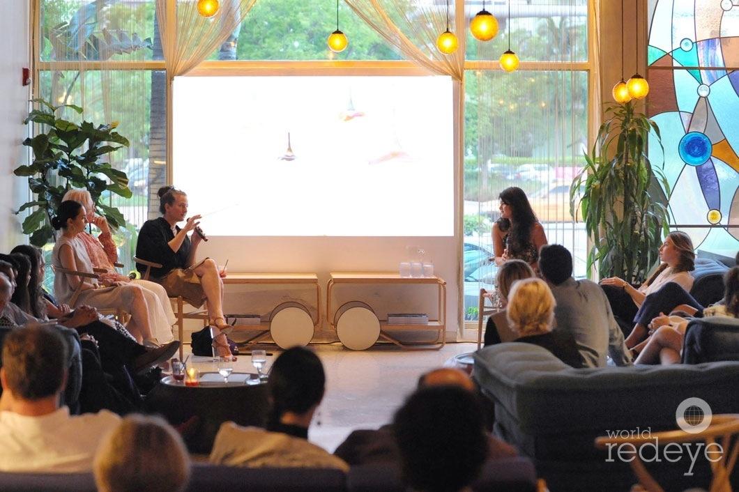 7.5-Teresita Fernandez, Paula Hayes speaking, & Dara Friedman6