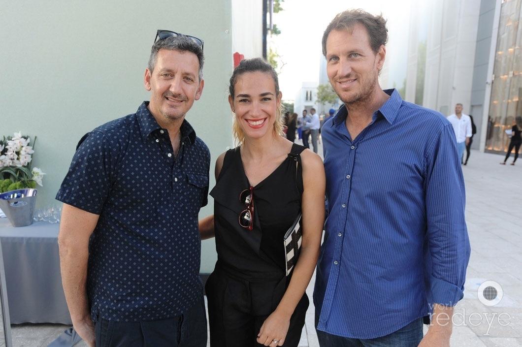 Greg Frehling, Silvia Grosso, & Timon Harris