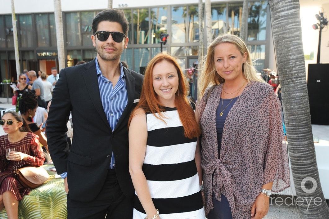 Yuri Xavier, Meredith Xavier, & Laura Byford