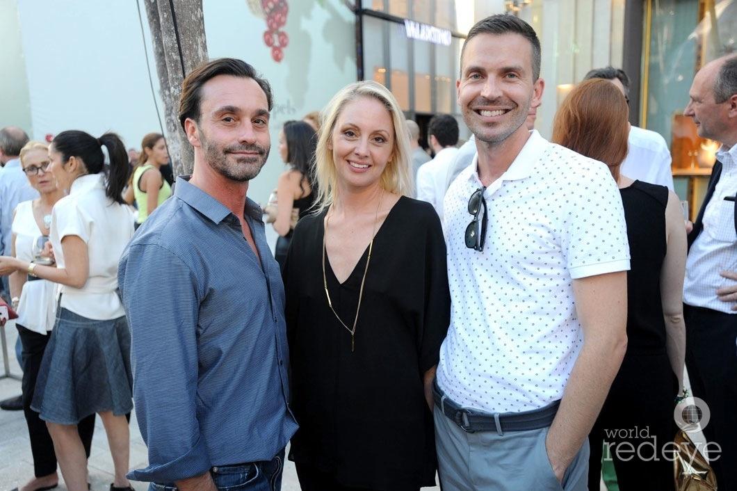 Damon Godfey, Sharon Held, & Delbert Bruns