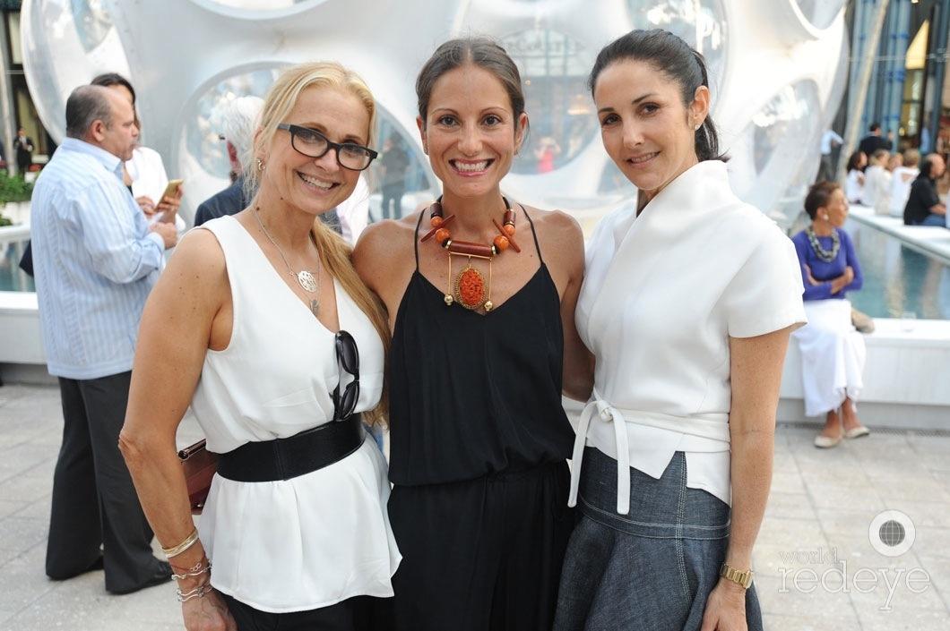 Teresa Laughlin, Sandra Santiago, & Lana Bernstein