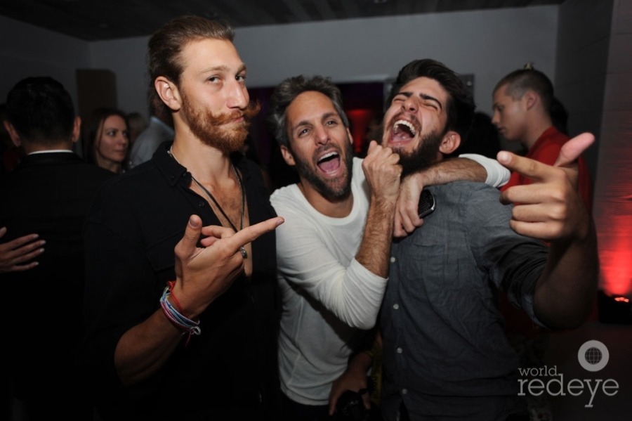 Jordan Mermell, Seth Browarnik, & Alejandro Chavarria