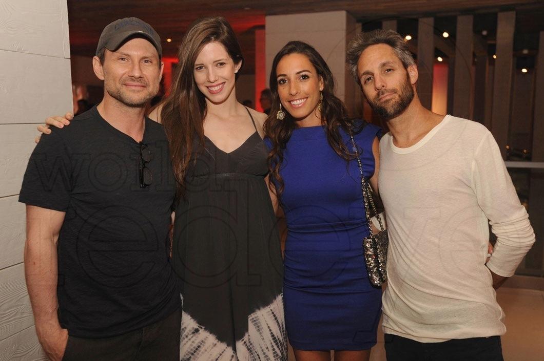 Christian Slater, Brittany Lopez, Lauren Gnazzo, & Seth Browarnik