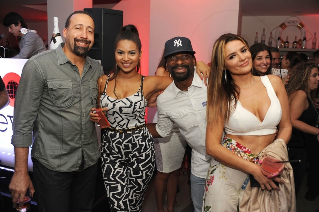50.5-David Fizdale, Natasha Sen, DJ Irie & Tina Powers