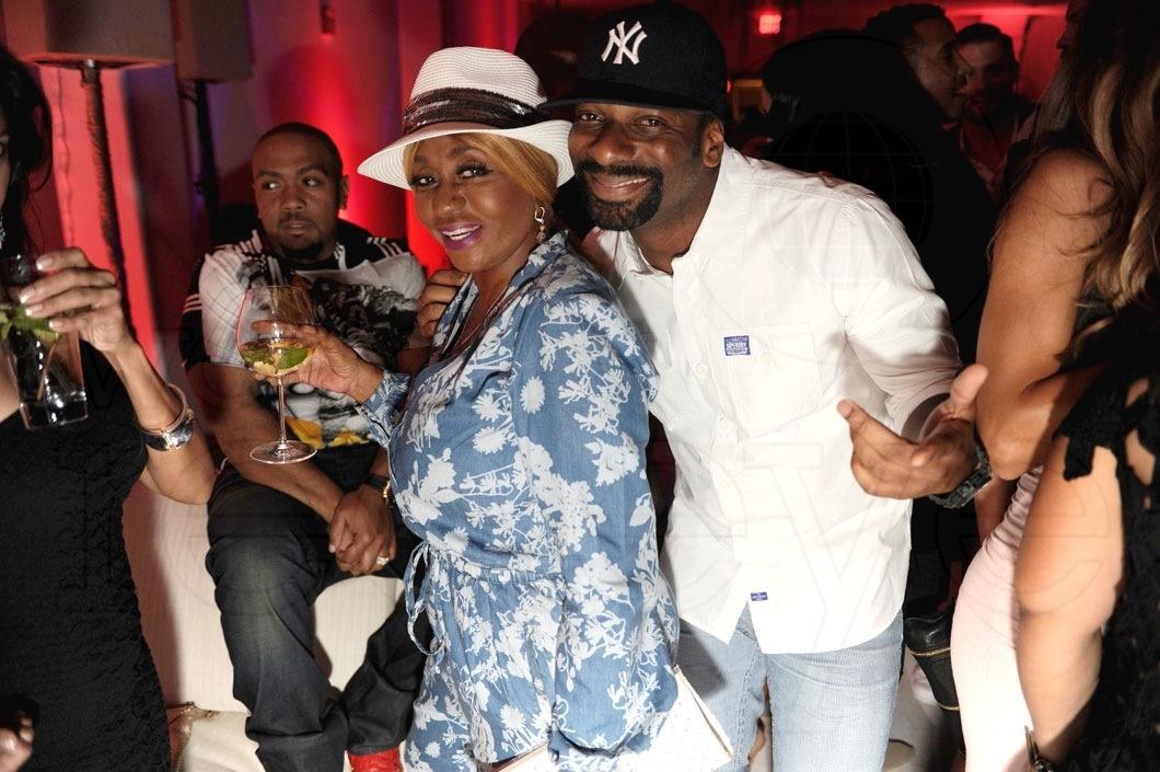 8-Janice Combs & DJ Irie