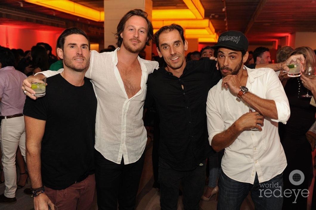88-Cameron Cervera, Flip, & Paulo Cardoso, & friend