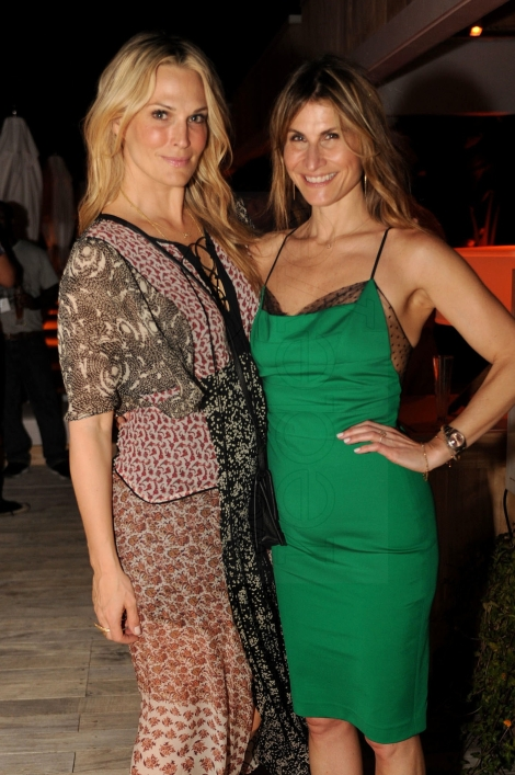 Molly Sims & Lauren Kucerak