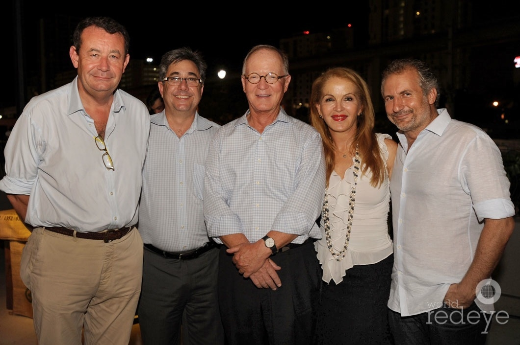 Brian Williams, Chris Gandolfo, Steve Owens, Maile Aguila, & Laurent Fraticelli