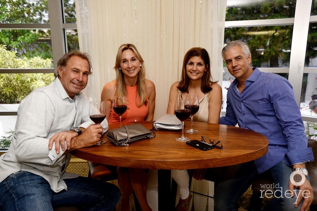 Wasaga Clack, Wendy Clack, Lynne Ruiz, & Enrique Ruiz
