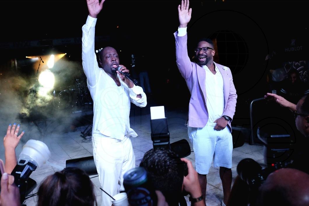 33-Wyclef Jean & DJ Irie - LIVE4