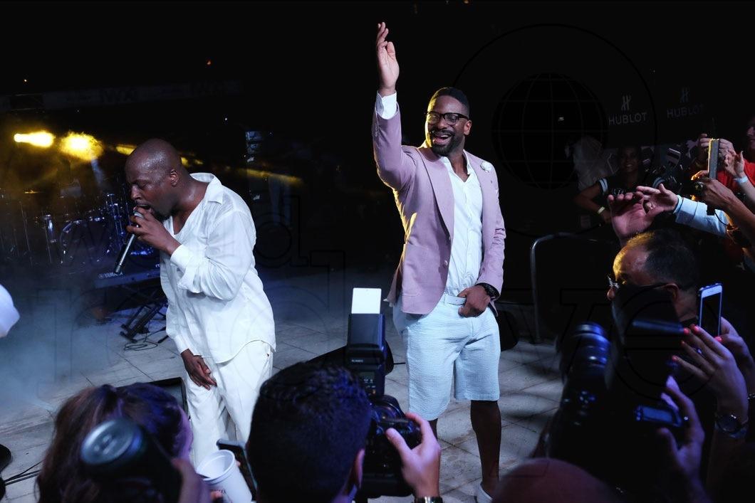 35-Wyclef Jean & DJ Irie - LIVE