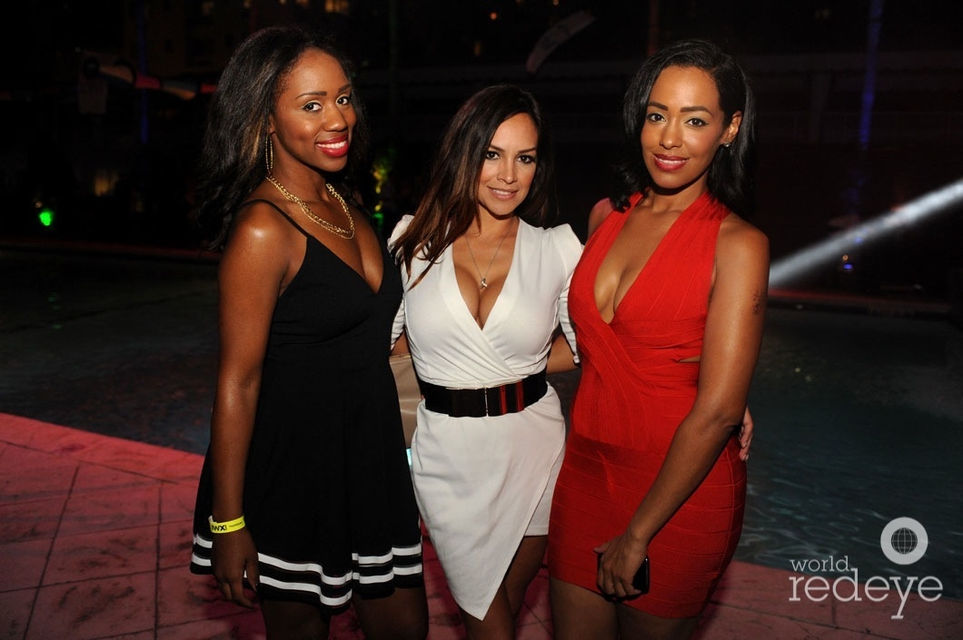 Brianca Jackson, Vanessa Cuevas, & Australia Goss