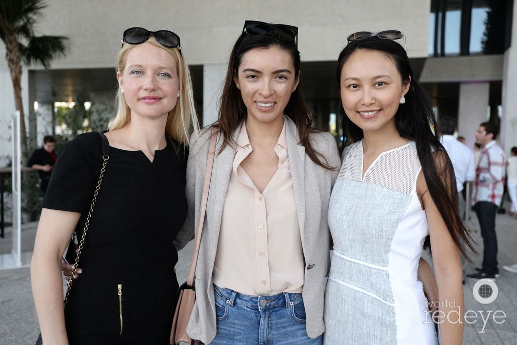 Betsy Magde, Geanie Arcija, & Catherine Cai