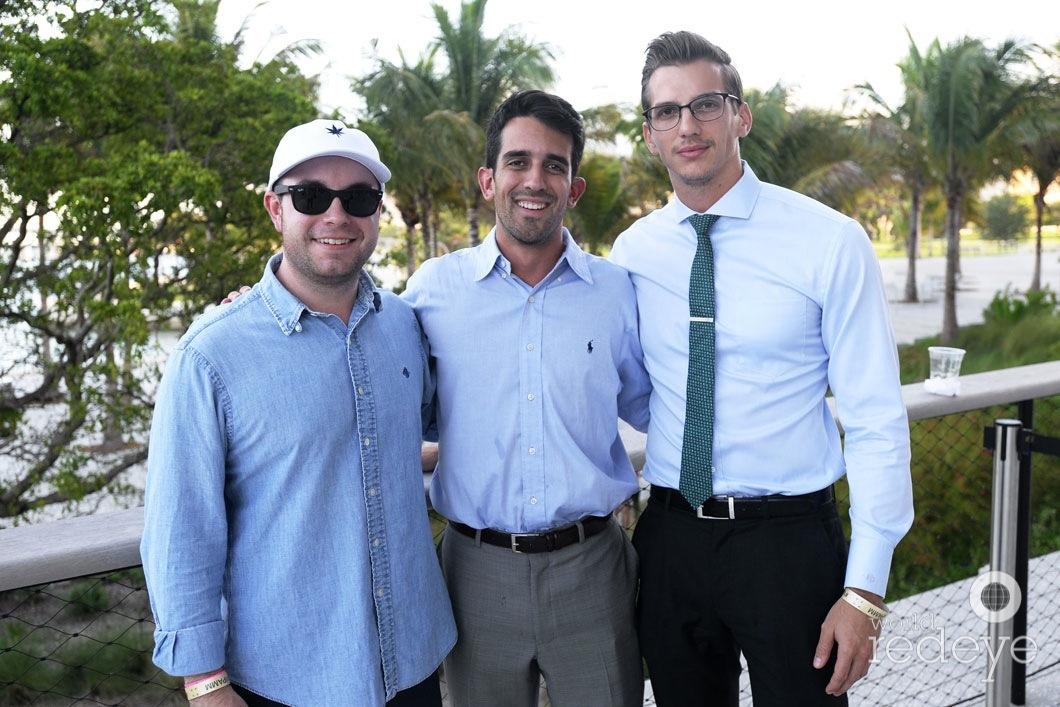 Christopher Noel, Gerry Gonzalez, & Andrew Schindler