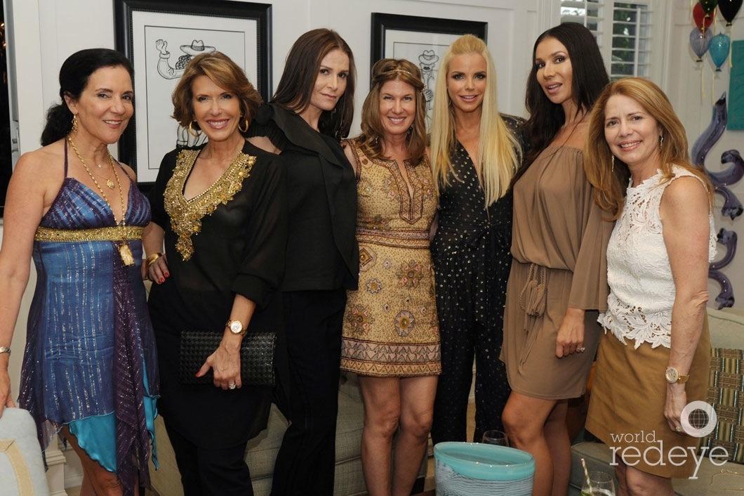 4-Linda Levy Goldberg, Daisy Olivera, Eilah Beavers, Dana Shear, Alexia Echevarria, Andreea Baclea, & Lorena Gomez