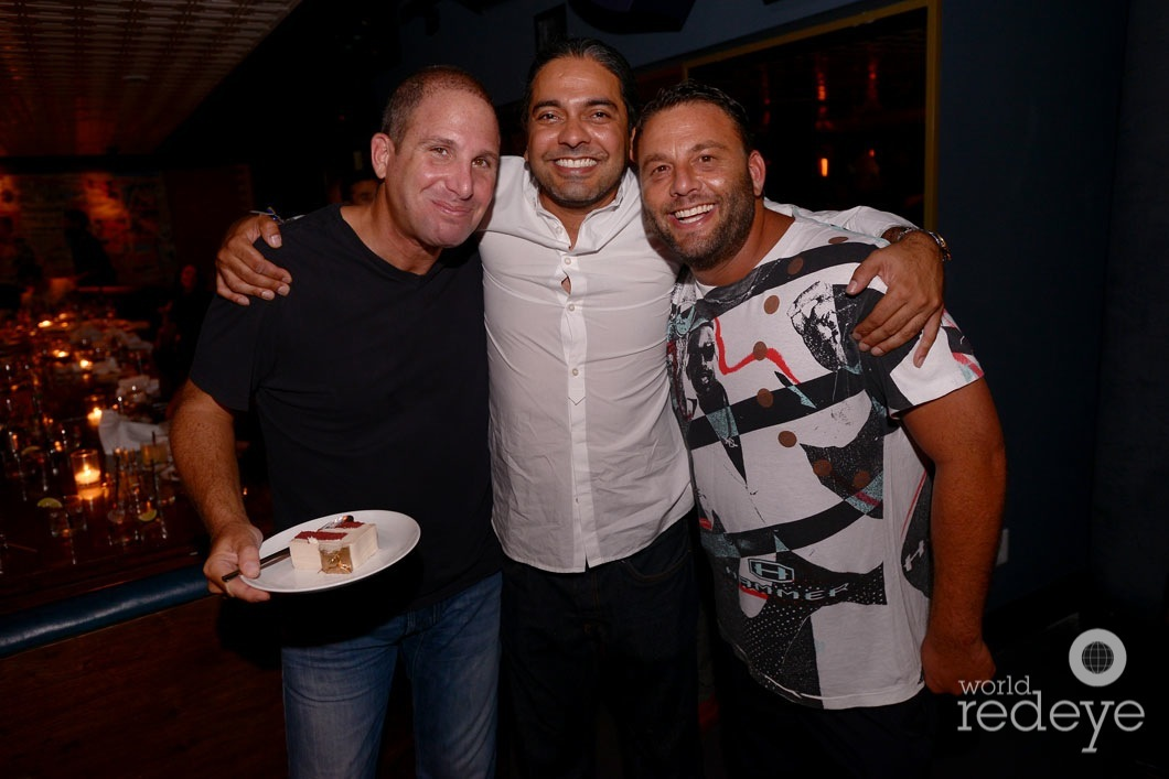 Karim Masri, Navin Chatani, & David Grutman