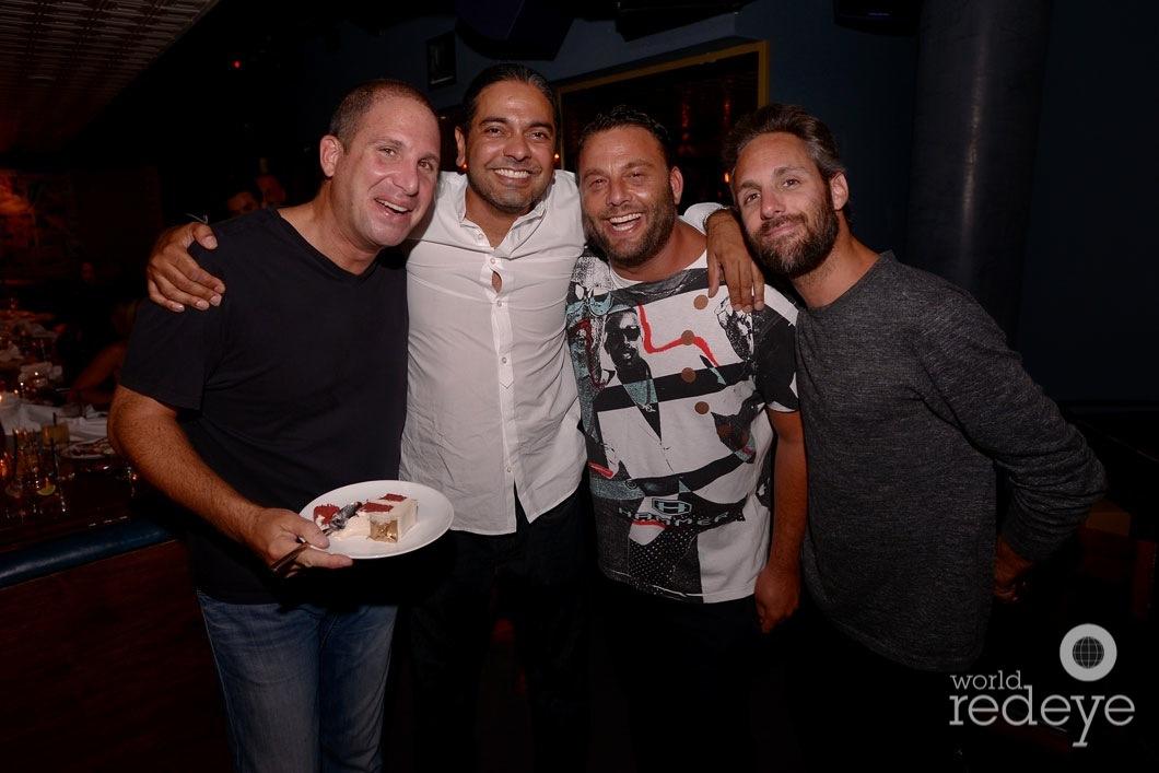 Karim Masri, Navin Chatani, David Grutman, & Seth Browarnik