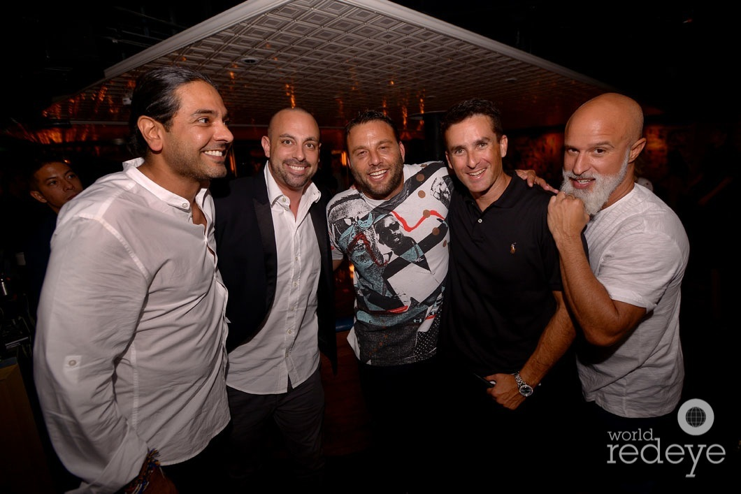 Navin Chatani, Zach Bush, David Grutman, Icey Mike, & Moe Garcia