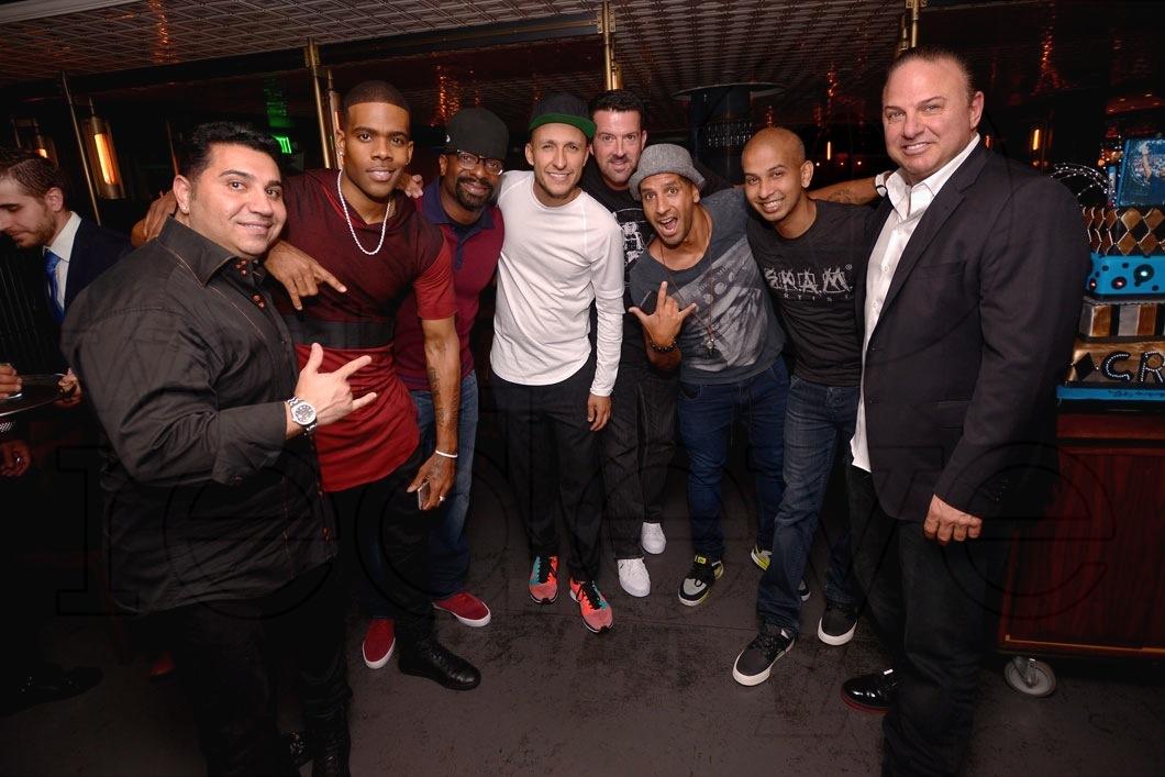 Fred Khalifa, Mario, DJ Irie, DJ Vice, DJ Crespo, Sujit Kundu, & Gino Lopinto