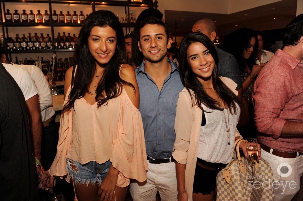 Monique Hernandez, Sebastian Madero, & Victoria Rosante