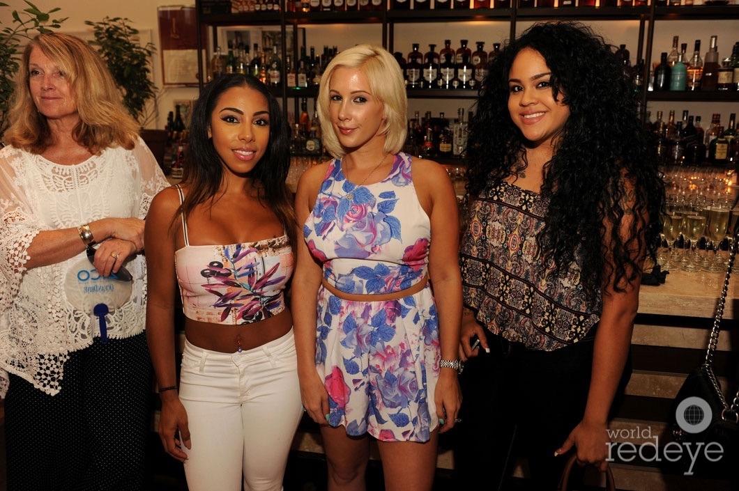 Ericka Medina, Amanda Taylor, & Desirey Aguilar