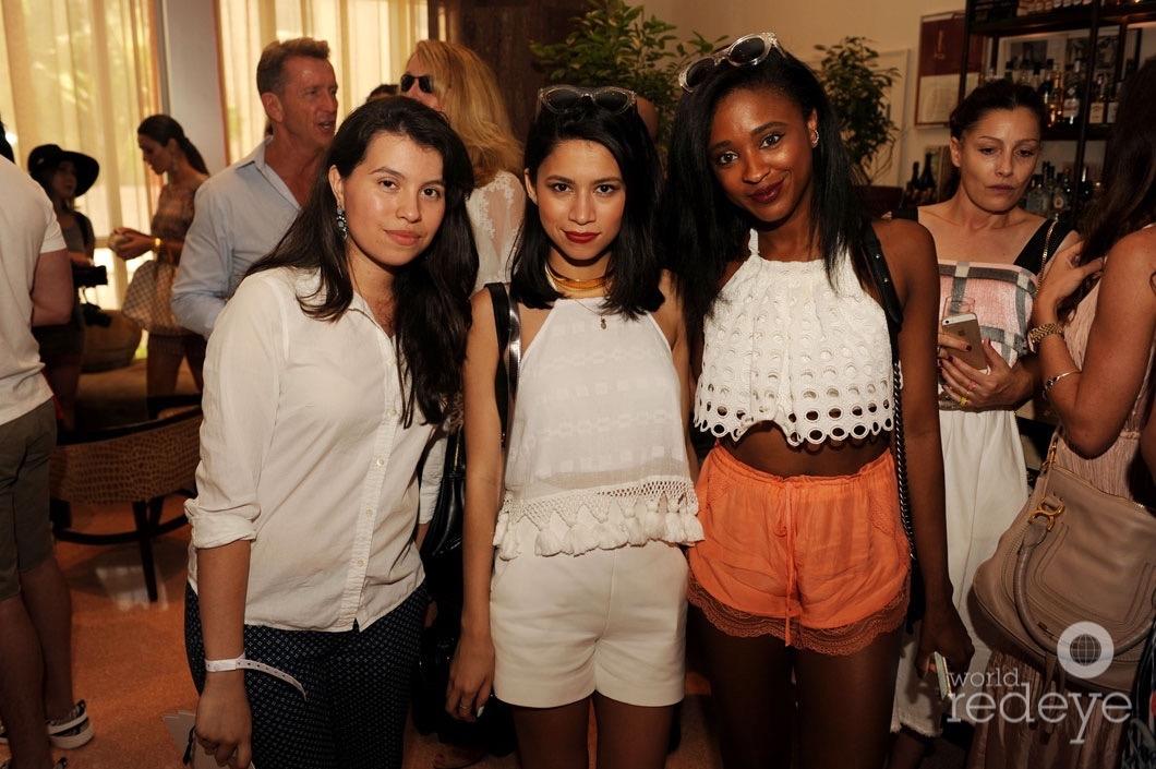 Genesis Bonilla, Joselin Reyes, & Ria Michelle