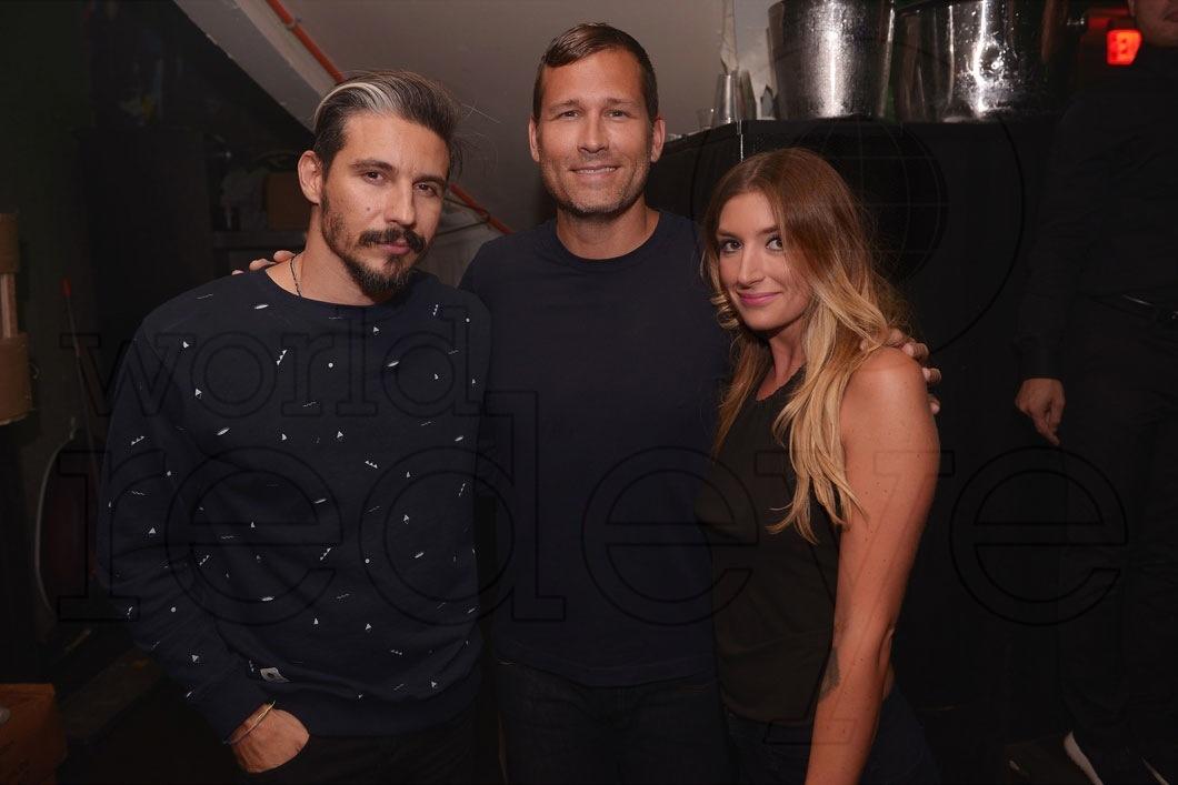 Biz Martinez, Kaskade, & Rachel Costa