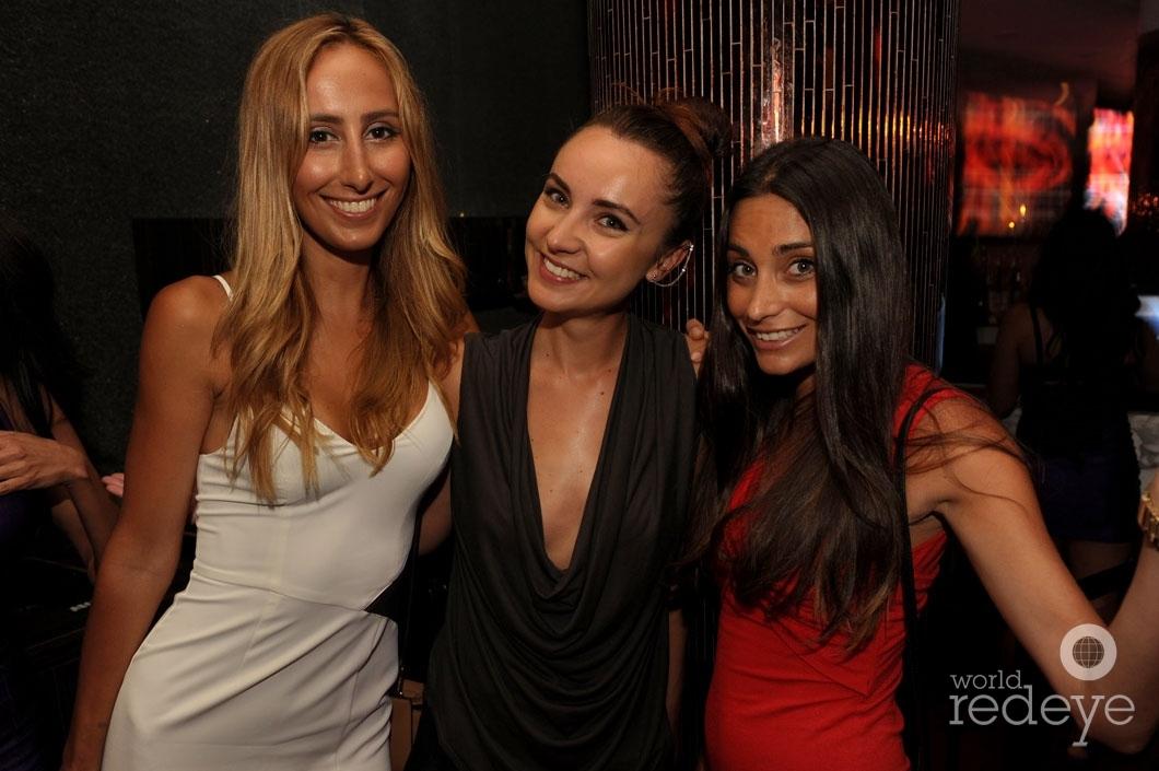 Alessandra Gov, Lana Andric, & Charlene Psaila