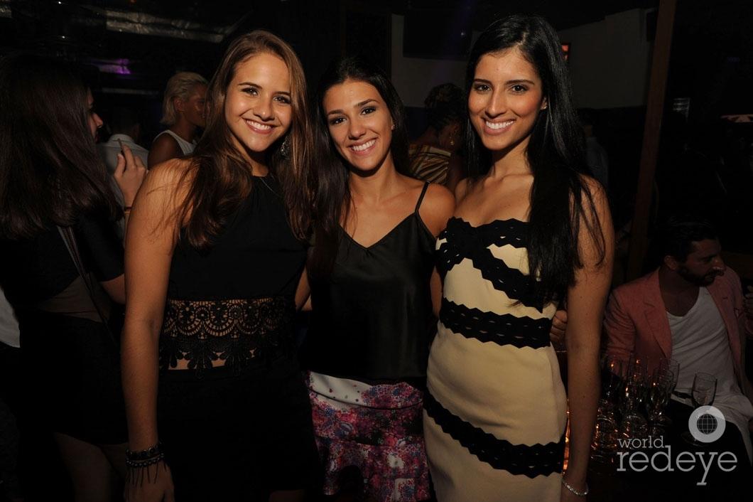 Stella Caldas, Ana Violate, & Priscilla Paullineli