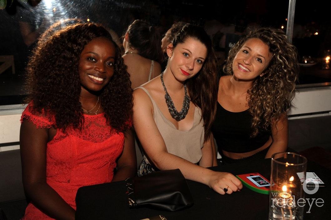 Amelie Pallagrosi, Elodie Matthieu, & Christelle N'Dohi