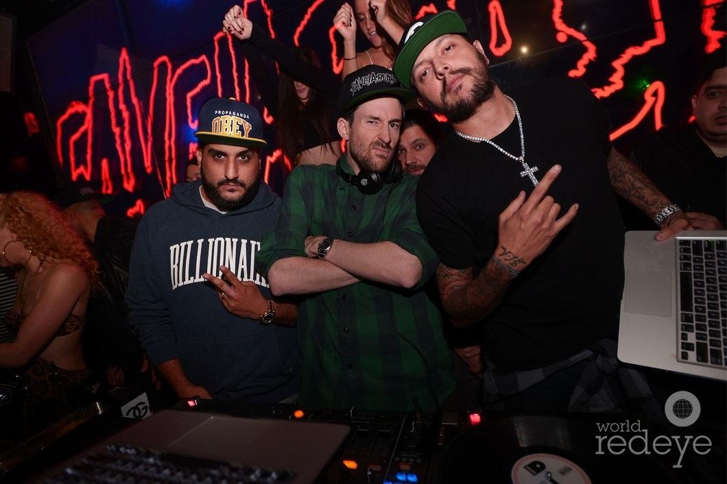 DJ Affect, DJ Ross One, DJ Konflikt, & Mr. Mauricio