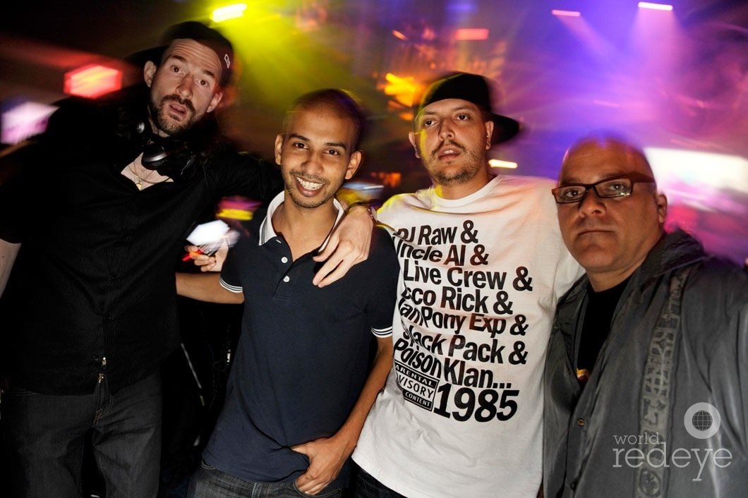 Ross One, Mr. Mauricio, Sujit Kundu, & Mark Leventhal