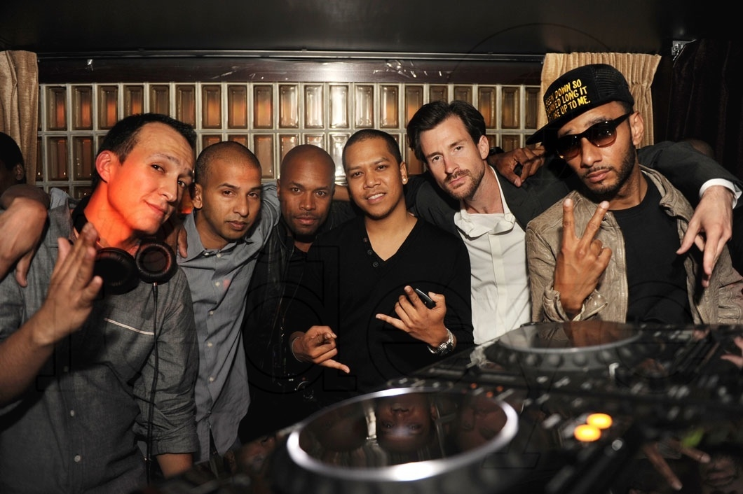 DJ Vice, Sujit Kundu, D-Nice, Chuckie, Ross One, & Swizz Beatz
