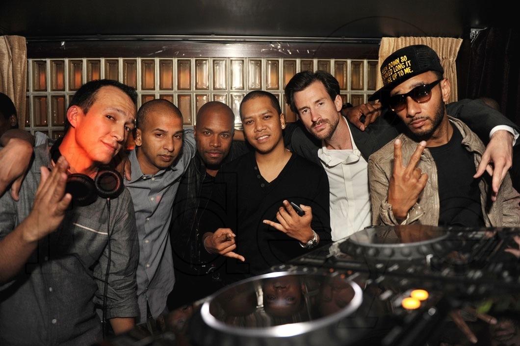 DJ Vice, Sujit Kundu, D-Nice, Chuckie, Ross One, & Swizz Beatz