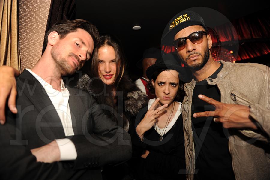 Ross One, Alessandra Ambrosio, Samantha Ronson, & Swizz Beatz
