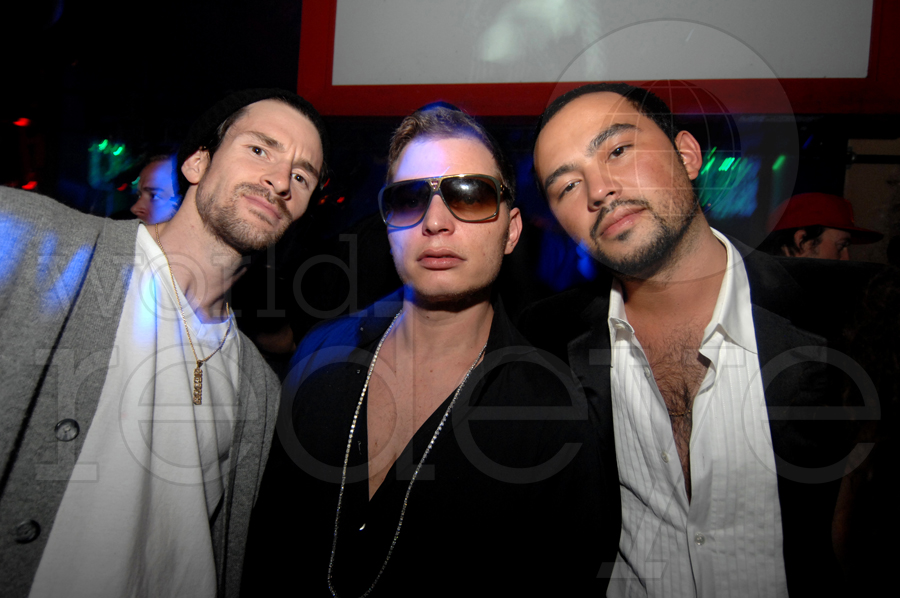 DJ Ross One, Scott Storch, & Chris Jones