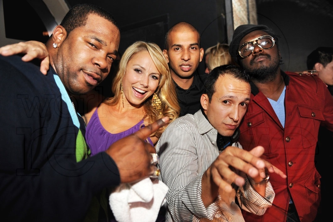 Busta Rhymes, Stacy Keibler, Sujit Kundu, DJ Vice, & will.i.am1