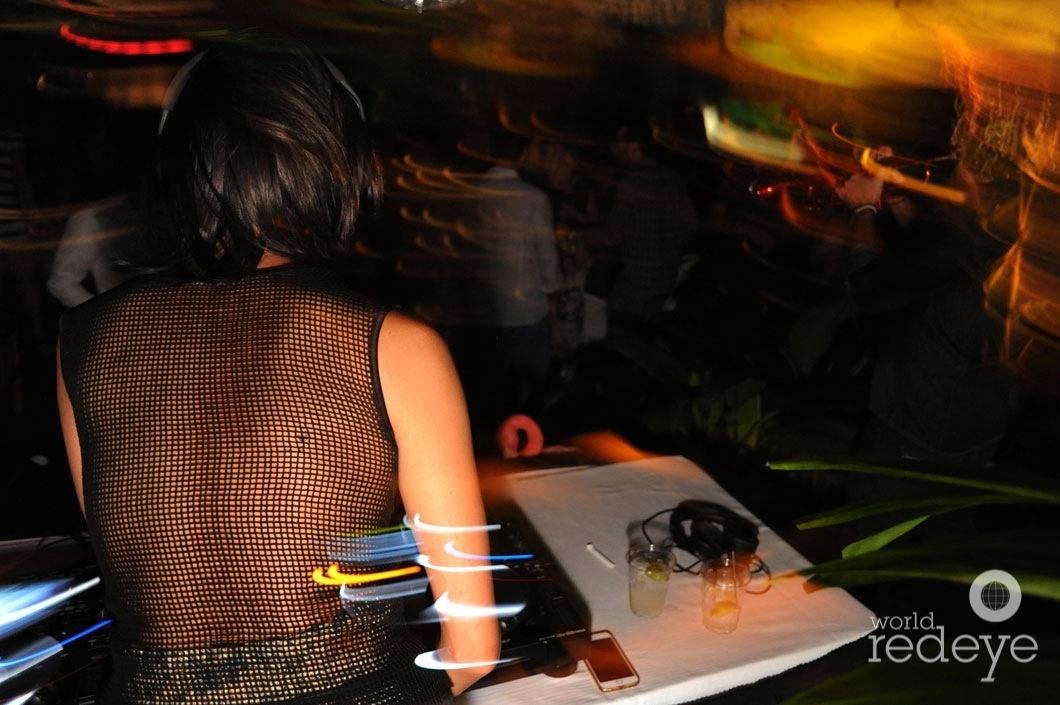 10-Gabby Mejia DJing1