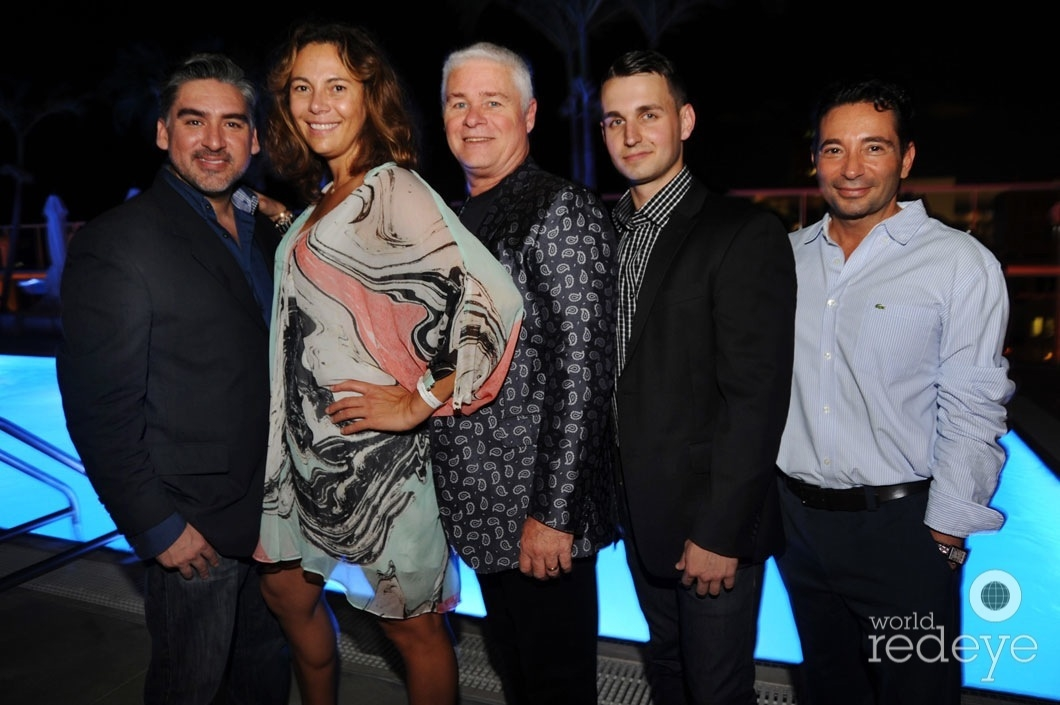 y-Nick Betancourt, Adriana Sassoon, Mark Owens, Kevin Knight, & Steven LaFont