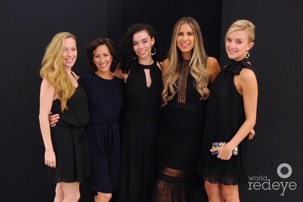 7-Suzette Logue, Eva Silverstein, Adrienne Carter, Maria Tettamanti, & Lexie Overholt