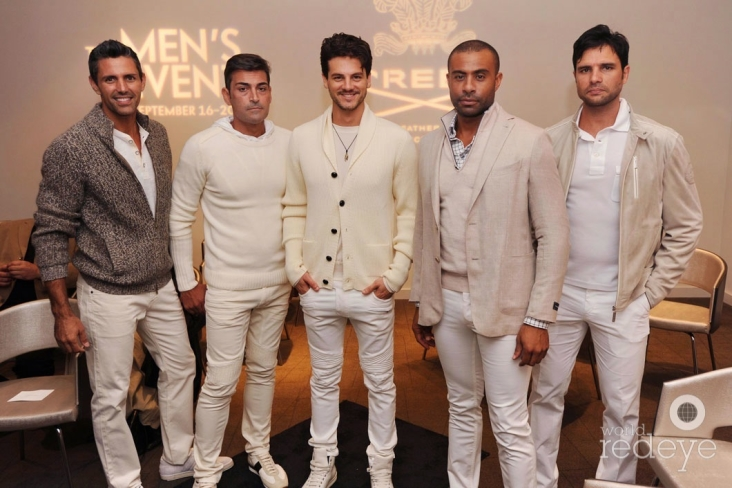 David James, Francisco Brignoni, Sebastian Rocha, Marcus Smith, & Javier Acosta
