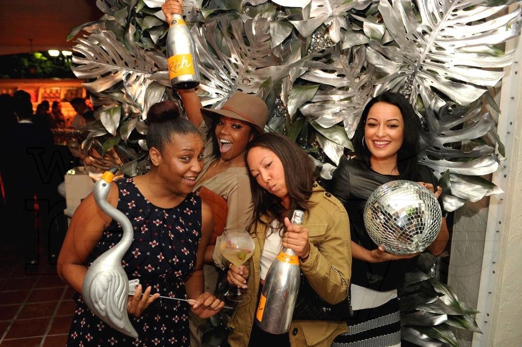 28-Chantelle Christopher, Gabrielle Union, Mandi Miranda, & Jessica Borero