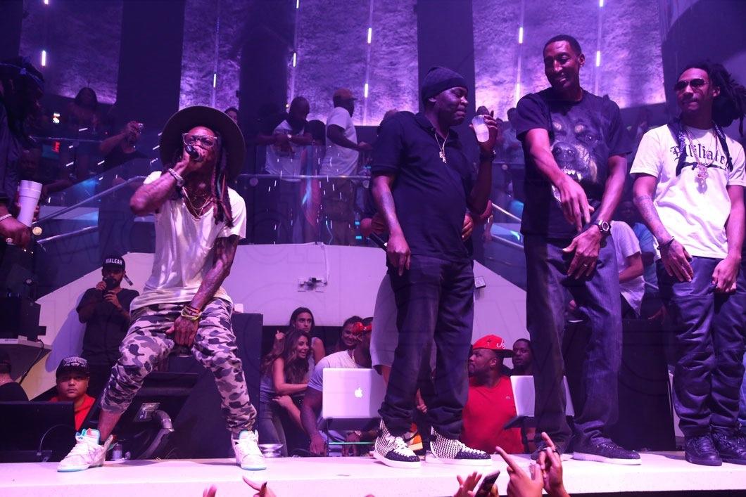29-Lil Wayne, Trick Daddy, & Scottie Pippen1